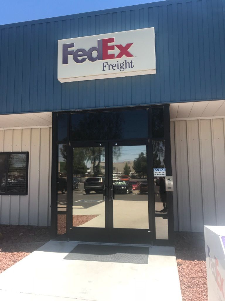 Fed Ex Commercial Window Tinting